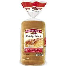new england style hot dog bun pepperidge farm bakery classics new england style hot dog buns 8