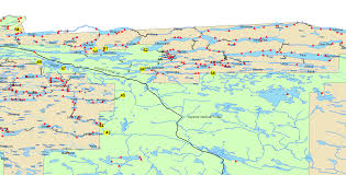 Lake Vermilion Map Boundary Waters Routes Blog Bwca Bwcaw Quetico Park