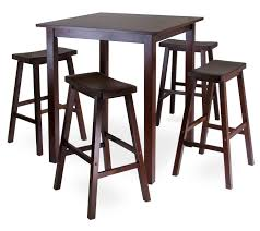 Charming High Kitchen Table And Stools Bar Height Sets Home - High kitchen table with stools