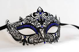 black masquerade masks for women black masquerade mask laser cut metal masqurade mask with