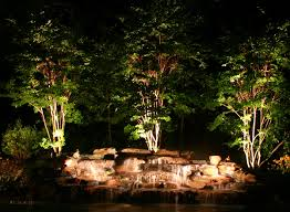 Fx Landscape Lighting Pond And Waterfall Construction Landscape Design Pondless Algae