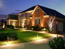 Landscaping Lights Ideas Landscape Led Lighting Kits House Create Dramatic Outdoor