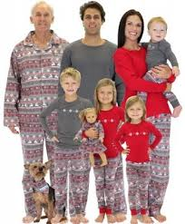 matching family pajamas nordic family matching