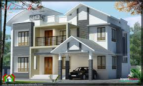modern style house with swimming pool architecture kerala