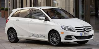 mercedes b class electric charged evs mercedes b class electric drive goes into production