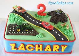 cars birthday cake transportation birthday cake car truck tractor 4 wheeler