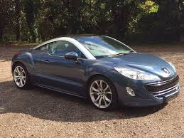 peugeot coupe rcz interior used peugeot rcz coupe 1 6 thp gt 2dr in princes risborough