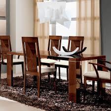 capri extendable dining table esf furniture modern manhattan