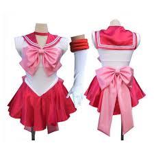 Pink Ladies Halloween Costumes Pink Sailor Moon Chibi Chibiusa Costume Size 6 16 Anime Dress