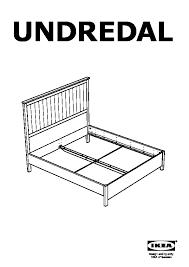 Ikea Espevar Undredal Bed Frame Black Ikea United States Ikeapedia