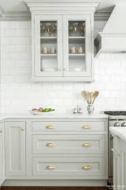 light gray kitchen cabinets with granite 20 gorgeous gray and white kitchens maison de pax