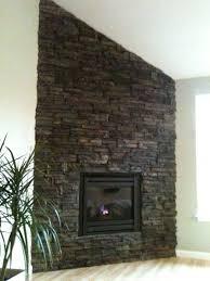 decorations stone veneer around fireplace design ideas stack