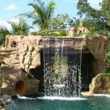 Homemade Backyard Waterfalls by Pool Waterfall Ideas In The Corner Warrens And Rabbits