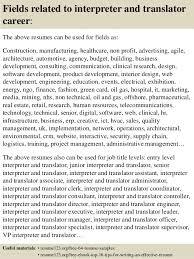 Medical Interpreter Resume Sample by Resume Objective Examples Translator Resume Ixiplay Free Resume