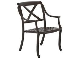 Tropitone Patio Chairs Tropitone Belmar X Back Cast Aluminum Dining Chair 311424