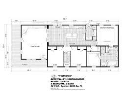 Single Wide Mobile Homes Floor Plans And Pictures Deer Valley Torridon Dv 8024 By Deer Valley Homebuilders