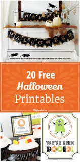 Kids Halloween Printables by 20 Free Halloween Printables Tip Junkie