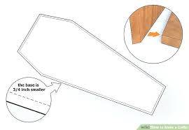 how to make a coffin how to make a coffin the casket plan coffin nails