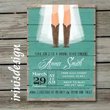 rustic bridal shower invitations rustic bridal shower hoedown wedding invitation 2222459 weddbook