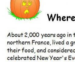 of halloween worksheet