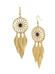 earrings online india buy gold dreamcatcher earrings online in india at cooliyo