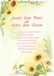 Sunflower Wedding Invitations Chic Yellow Sunflower Wedding Invitations Ewi013 As Low As 0 94