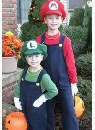 Mario Luigi Halloween Costumes Parents Parenting U0026 Advice Moms Dads Easy Homemade