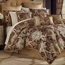 Bed Bath Beyond Comforters Bradney Damask Comforter Bedding By Croscill