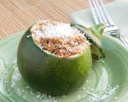 cuisiner la courgette ronde recette courgettes rondes farcies