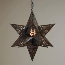 Marketstar Help Desk Moravian Star Hanging Pendant Lamp World Market