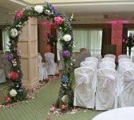 wedding flowers kilkenny wedding arch in newpark hotel kilkenny civil wedding flowers