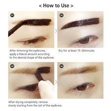 How To Pencil Eyebrows Amazon Com Reddy Long Lasting Tattoo Eyebrow Pack 10g Peel