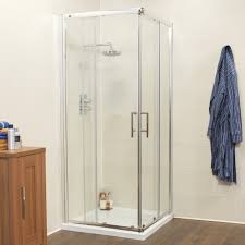 flair single door quadrant shower enclosure shower doors