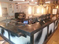 Slipcast Zinc Black Granite Countertops by 28 Stuart Holt Aged Zinc Kitchen Kitchens