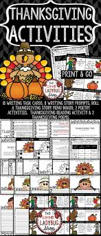 thanksgiving writing i am thankful fall activities