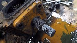 agri weld batwing gear box leaking seal rebuild youtube
