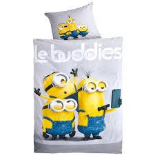 Esszimmerst Le Angebote Kinderbettwäsche Minions Le Buddies 135x200 Dänisches Bettenlager