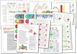 christmas printables e book for adults and office christmas