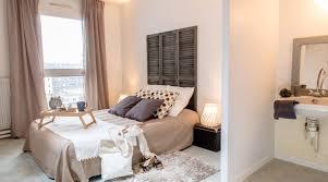 id d o chambre cocooning tete de lit bois flott with scandinave chambre décoration de la