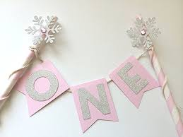 Winter Onederland Party Decorations Amazon Com Snowflake Cake Topper Pink And Silver Winter