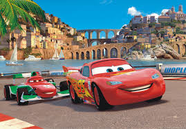xxl poster wall mural wallpaper disney pixxar cars 2 mcqueen photo xxl poster wall mural wallpaper disney pixxar cars 2 mcqueen photo 160 cm x 115 cm 1 75 yd x 1 26 yd