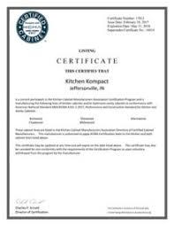 Kcma Kitchen Cabinets Ansi Certified Kitchen Kompact