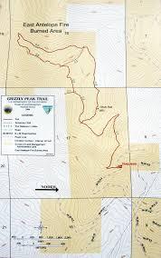 Oregon Trail Maps by Grizzly Peak Trail Map Grizzly Peak Ashland Oregon U2022 Mappery