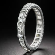 tiffany rings bands images Tiffany co platinum french cut diamond band jpg