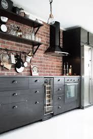 kitchen interior photo best 25 black kitchen decor ideas on pinterest contemporary