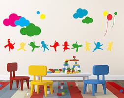 Kids Wall Decal Etsy - Kids rooms decals