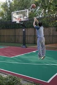 backyard basketball court flooring outdoor modular sports flooring surfaces sportcourtbc com