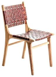 Woven Chairs Dining Woven Dining Chair Lunion Me