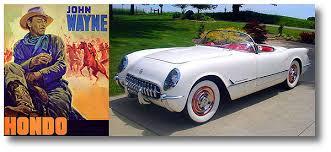 1953 corvette wagon 10 7 53 wayne receives 1953 corvette 051