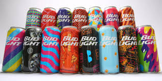 bud light in the can bud light festival cans the dieline packaging branding design